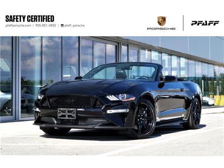 2019 Ford Mustang Convertible GT Premium (Stk: U9922) in Vaughan - Image 1 of 39
