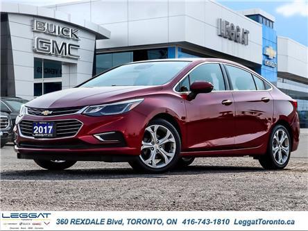 2017 Chevrolet Cruze Premier Auto (Stk: T11840) in Etobicoke - Image 1 of 29