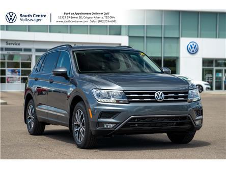 2021 Volkswagen Tiguan Comfortline (Stk: 10357) in Calgary - Image 1 of 39