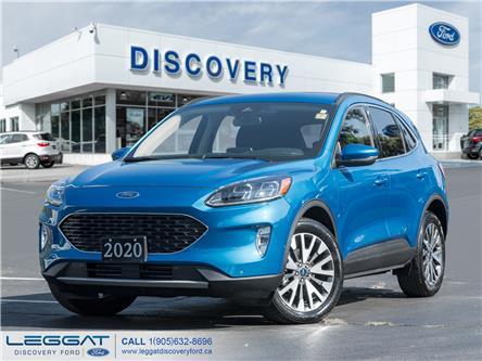 2020 Ford Escape Titanium (Stk: 20-42857) in Burlington - Image 1 of 22
