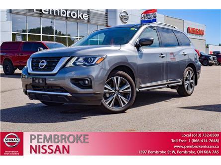 2020 Nissan Pathfinder Platinum (Stk: P241) in Pembroke - Image 1 of 30