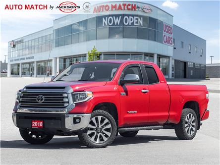 2018 Toyota Tundra Limited 5.7L V8 (Stk: U2694) in Barrie - Image 1 of 22
