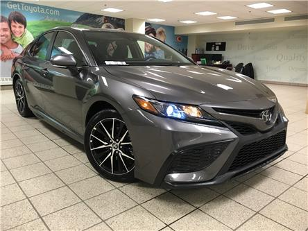 2021 Toyota Camry SE (Stk: 211628) in Calgary - Image 1 of 20