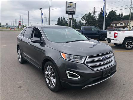 2016 Ford Edge Titanium (Stk: 4903-20A) in Sault Ste. Marie - Image 1 of 13