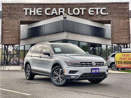 2018 Volkswagen Tiguan Highline (Stk: 21485) in Sudbury - Image 1 of 29