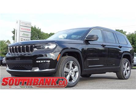 2021 Jeep Grand Cherokee L Limited (Stk: 210596) in OTTAWA - Image 1 of 9