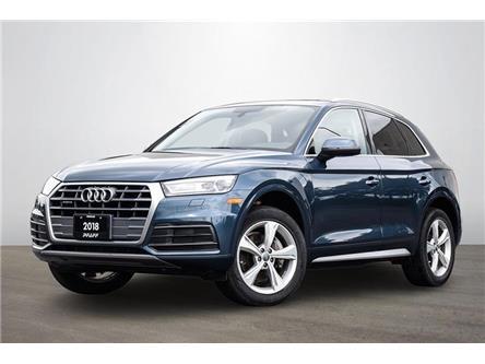 2018 Audi Q5 2.0T Progressiv (Stk: C8824) in Vaughan - Image 1 of 20