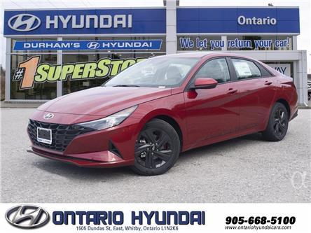 2021 Hyundai Elantra Preferred (Stk: 13-086213) in Whitby - Image 1 of 22