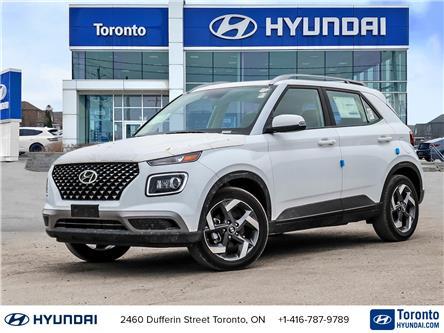 2021 Hyundai Venue Ultimate w/Black Interior (IVT) (Stk: N23080) in Toronto - Image 1 of 22