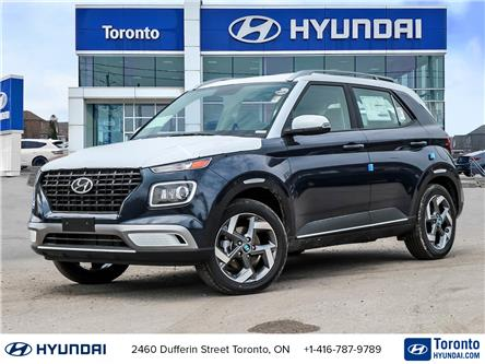 2021 Hyundai Venue Trend w/Urban PKG - Denim Interior (Stk: N23240) in Toronto - Image 1 of 29