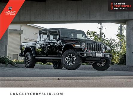 2021 Jeep Gladiator Rubicon (Stk: M592654) in Surrey - Image 1 of 25