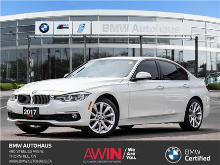 2017 BMW 330i xDrive (Stk: P10735) in Thornhill - Image 1 of 37