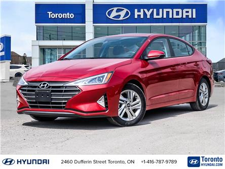 2020 Hyundai Elantra Preferred w/Sun & Safety Package (Stk: U07293) in Toronto - Image 1 of 29