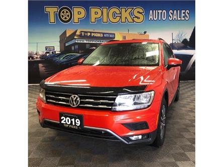 2019 Volkswagen Tiguan Comfortline (Stk: 050508) in NORTH BAY - Image 1 of 30