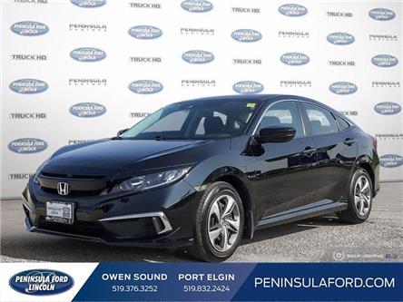 2019 Honda Civic LX (Stk: 21EP02B) in Owen Sound - Image 1 of 26
