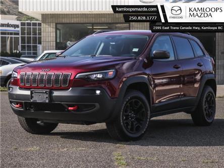 2019 Jeep Cherokee Trailhawk (Stk: Q0036) in Kamloops - Image 1 of 34