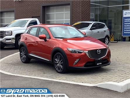 2018 Mazda CX-3 GT (Stk: 31338A) in East York - Image 1 of 30