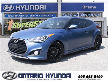 2016 Hyundai Veloster Rally (Stk: 55710A) in Whitby - Image 1 of 22