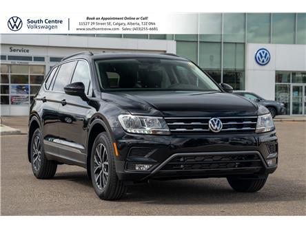 2021 Volkswagen Tiguan Comfortline (Stk: 10369) in Calgary - Image 1 of 40
