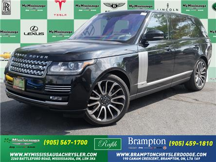 2017 Land Rover Range Rover 5.0L V8 Supercharged Autobiography (Stk: 1713) in Mississauga - Image 1 of 29