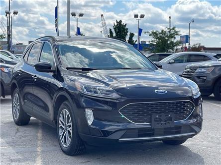 2021 Ford Escape SEL Hybrid (Stk: P11081) in Brampton - Image 1 of 17