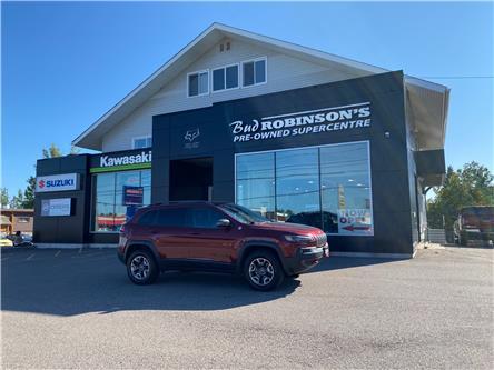 2019 Jeep Cherokee Trailhawk (Stk: ) in Sault Ste. Marie - Image 1 of 33