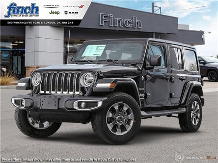 2021 Jeep Wrangler Unlimited Sahara (Stk: 102493) in London - Image 1 of 24