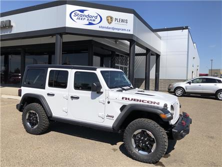 2021 Jeep Wrangler Unlimited Rubicon (Stk: 5M217) in Medicine Hat - Image 1 of 18