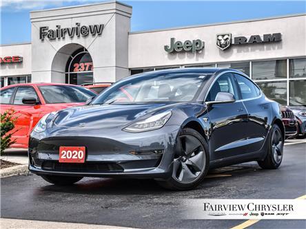 2020 Tesla Model 3 Standard Range (Stk: U18843) in Burlington - Image 1 of 32