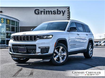 2021 Jeep Grand Cherokee L Limited (Stk: N21242) in Grimsby - Image 1 of 35