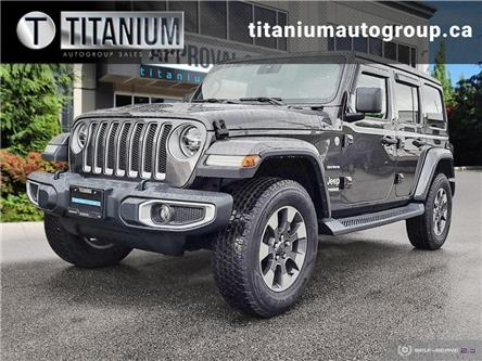 2020 Jeep Wrangler Unlimited Sahara (Stk: 191906) in Langley Twp - Image 1 of 24