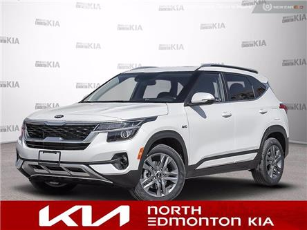2021 Kia Seltos EX (Stk: 21SE5154Z) in Edmonton - Image 1 of 22
