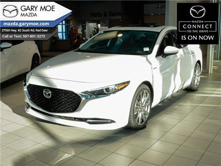 2021 Mazda Mazda3 100th Anniversary Edition (Stk: 1M38362) in Red Deer - Image 1 of 13