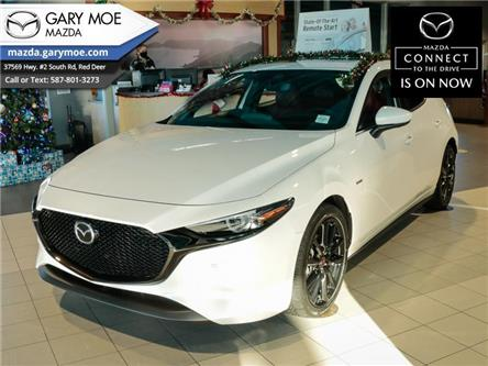 2021 Mazda Mazda3 Sport 100th Anniversary Edition (Stk: 1MS8316) in Red Deer - Image 1 of 16