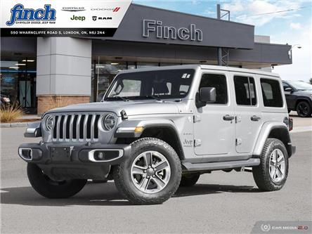 2020 Jeep Wrangler Unlimited Sahara (Stk: 102519) in London - Image 1 of 27