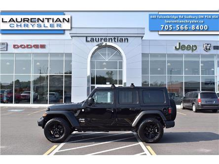 2018 Jeep Wrangler Unlimited Sport (Stk: 21388A) in Greater Sudbury - Image 1 of 23