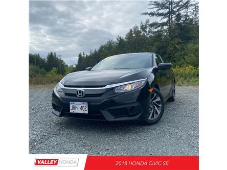 2018 Honda Civic SE (Stk: U5913A) in Woodstock - Image 1 of 8
