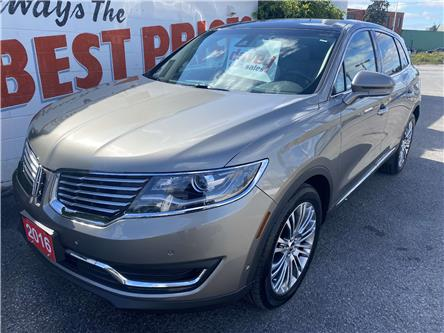 2016 Lincoln MKX Reserve (Stk: 21-411) in Oshawa - Image 1 of 16