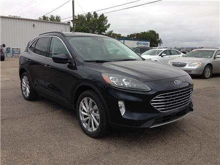 2021 Ford Escape Titanium Hybrid (Stk: 21223) in Wilkie - Image 1 of 22