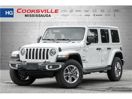 2021 Jeep Wrangler Unlimited Sahara (Stk: MW814438) in Mississauga - Image 1 of 20