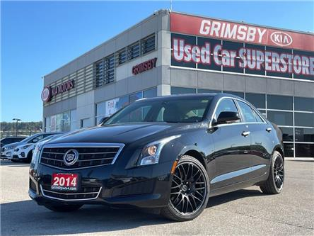 2014 Cadillac ATS Luxury AWD   Leather   Sunroof   Navi   Loaded! (Stk: U2072) in Grimsby - Image 1 of 26
