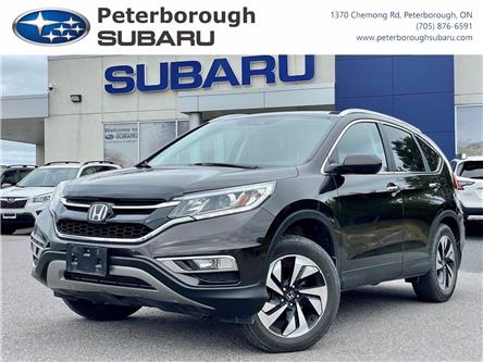 2015 Honda CR-V Touring (Stk: S4759A) in Peterborough - Image 1 of 30