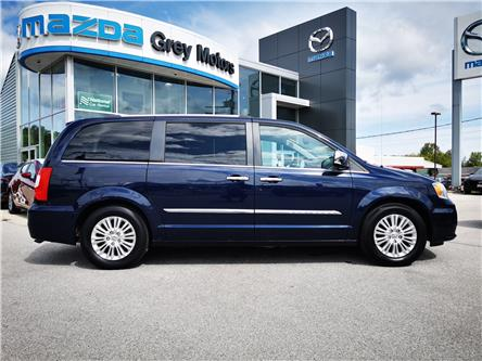 2013 Chrysler Town & Country Limited (Stk: 21136A) in Owen Sound - Image 1 of 21