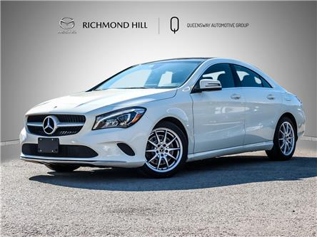 2018 Mercedes-Benz CLA 250 Base (Stk: P0681) in Richmond Hill - Image 1 of 25
