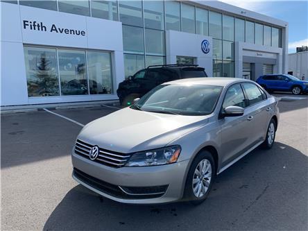 2013 Volkswagen Passat 2.5L Trendline (Stk: 21174A) in Calgary - Image 1 of 15