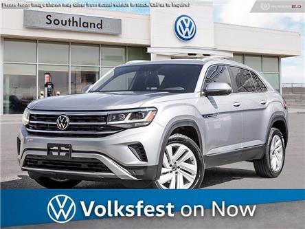 2021 Volkswagen Atlas Cross Sport 3.6 FSI Highline (Stk: M21153) in Medicine Hat - Image 1 of 23