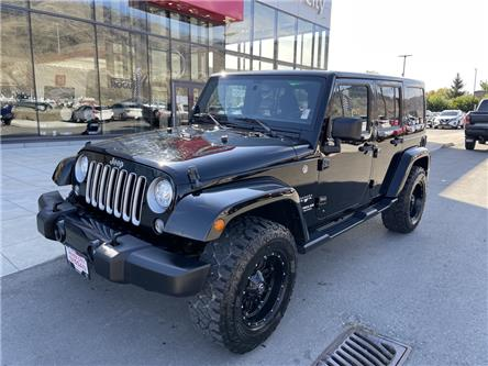 2017 Jeep Wrangler Unlimited Sahara (Stk: T21242A) in Kamloops - Image 1 of 19