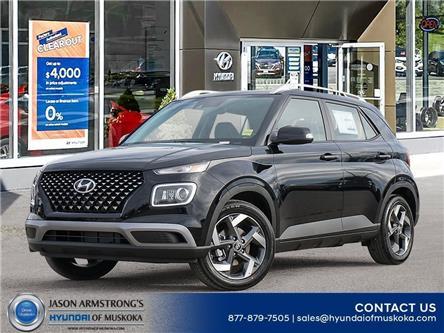 2021 Hyundai Venue Ultimate w/Black Interior (IVT) (Stk: 121-131) in Huntsville - Image 1 of 10