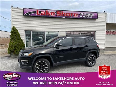 2018 Jeep Compass Limited (Stk: K9820) in Tilbury - Image 1 of 15