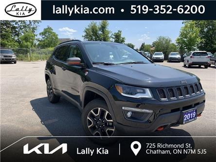 2019 Jeep Compass Trailhawk (Stk: K4174) in Chatham - Image 1 of 20